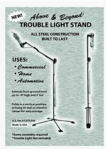 Above & Beyond Trouble Light Stand