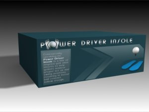 Power Driver- Golf Shoe Insoles