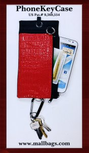 Cell Phone Key Case Combination Patented