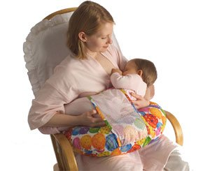 Baby & Mom Pillow With Safety Device