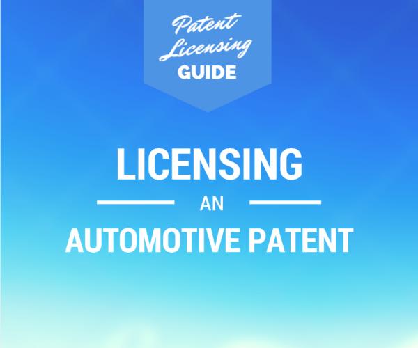 Automotive Patent