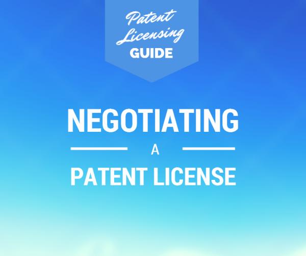 Patent Licensing Negotiations