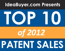 Top 10 Patent Sales of 2012