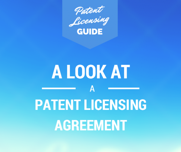 Patent Licensing Agreement
