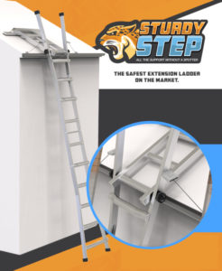 Sturdy Step Safety Ladder Idea Buyer Product